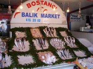 Ψαράδικο στο Μπόσταντζι