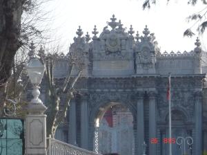 Αυτοκρατορική Πύλη Ανακτόρου Ντολμά Μπαχτσ�