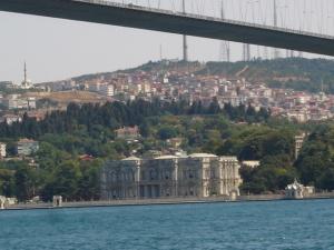 To Παλάτι Beylerbeyi στην ασιατική ακτή