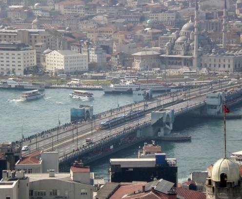 Θέα προς Γέφυρα Γαλατά